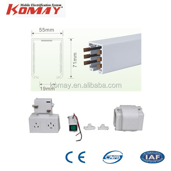High Quality Lighting Busbar Trunking System/ Busway Trunking