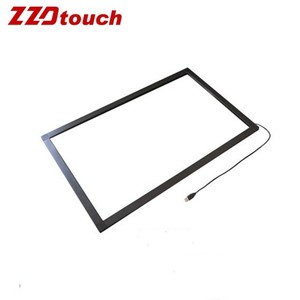 "19"" infrared touch frame touch screen components parts IR touch kit overlay"