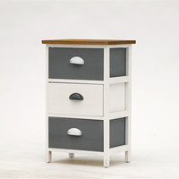 Wholesale Home Furniture 3 drawers Cabinet Wooden Cabinet