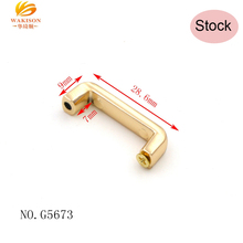 Popular Bag Hardware 20mm Metal Gold Plating Bridge In Stock