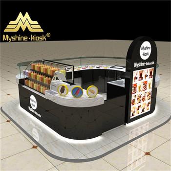 Indoor food cart free 3d coffee kiosk design food kiosk for Indoor food kiosk design