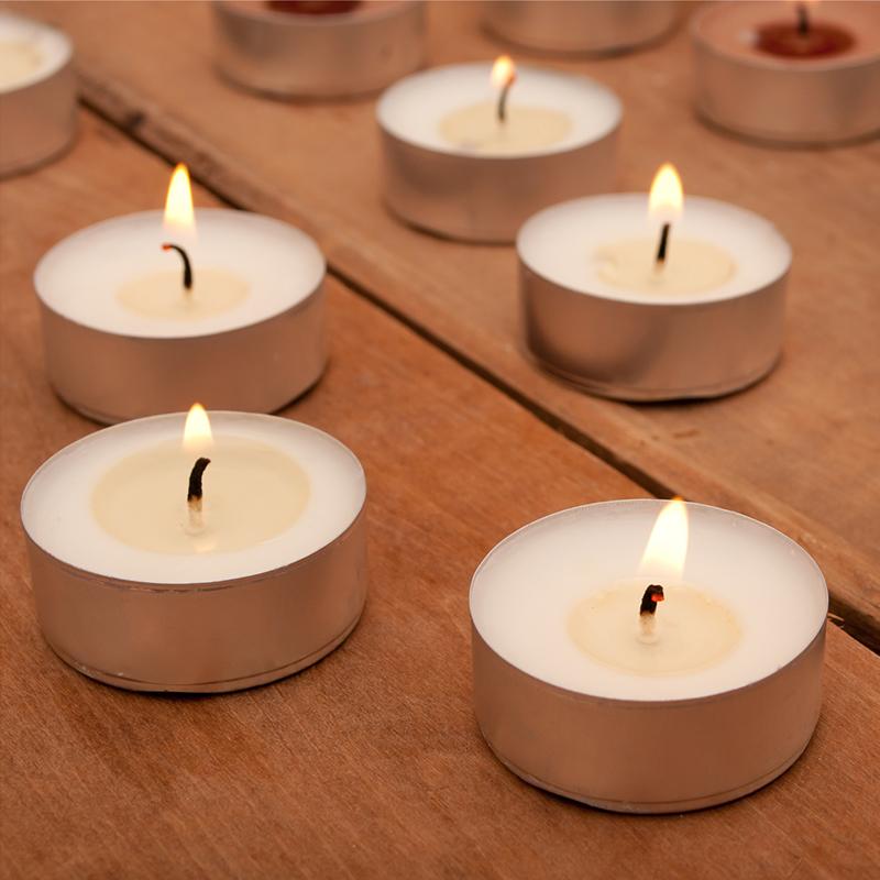 Mini citronella tea light candle colour tealight candles