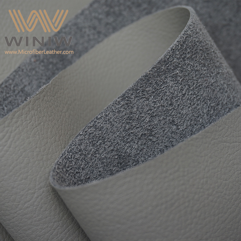 Best Quality Dark Grey Synthetic Leather For Automotive Upholstery Car Seats