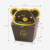Custom full colors handmade paper box Cookie packaging box with bear