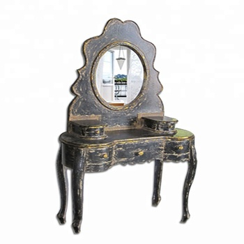 Merveilleux Shabby Chic Vintage French Vanity Dressing Table