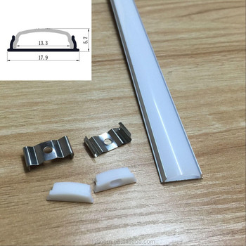 bendable led aluminum profile with milk difuser