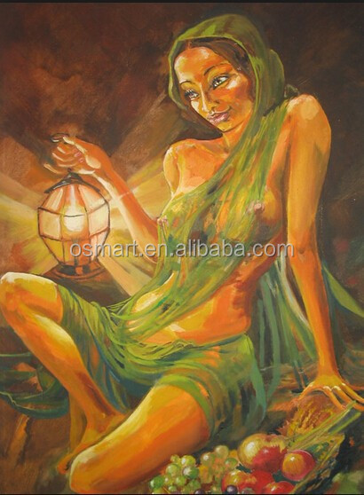 Old Mastered Artists Handmade Sexy Hot Nude Indian Women Oil Painting  Canvas For Wall Art Decoration - Buy Nude Indian Women Oil Painting,Handmade  Oil ...