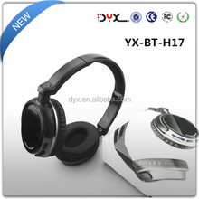 Solid Black Color Multi Function High Quality Active Noise Cancelling Headphone