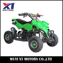49cc mini atv quad for kids 2 stroke gas powered ATV 50cc for sale