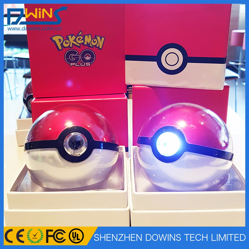 2017 magic ball Pokemon Go Pokeball charger power bank 10000mah