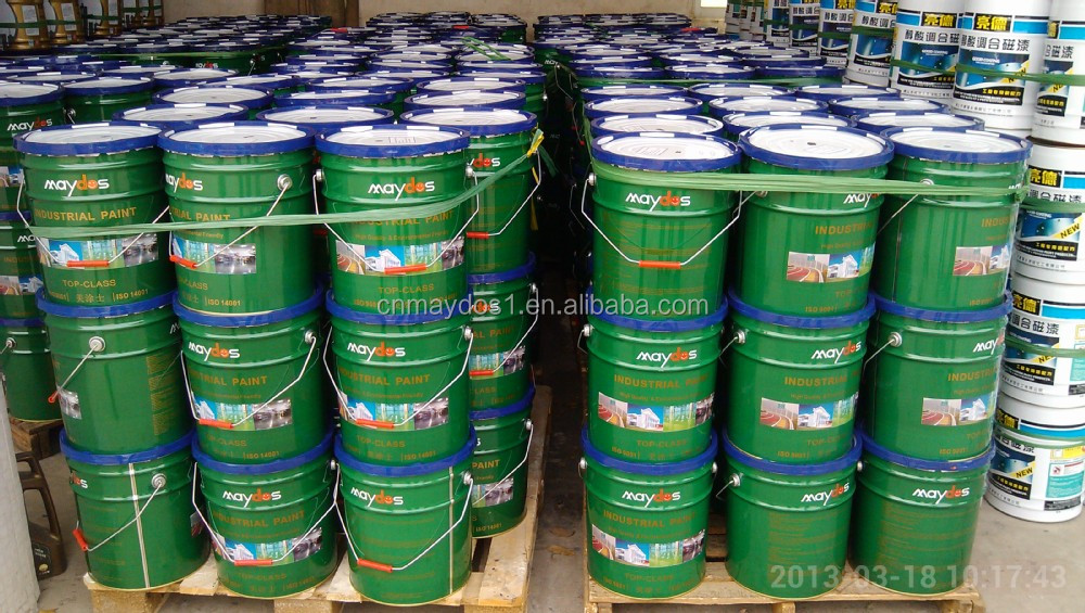 Industrial Painting 1k Synthetic Acrylic Enamel Paint For Steel Structure Building Buy