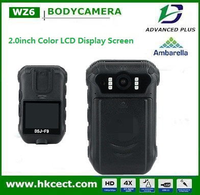 night vision wireless camera with battery on police use-of-force with larger battery capacity police mini camera dvr