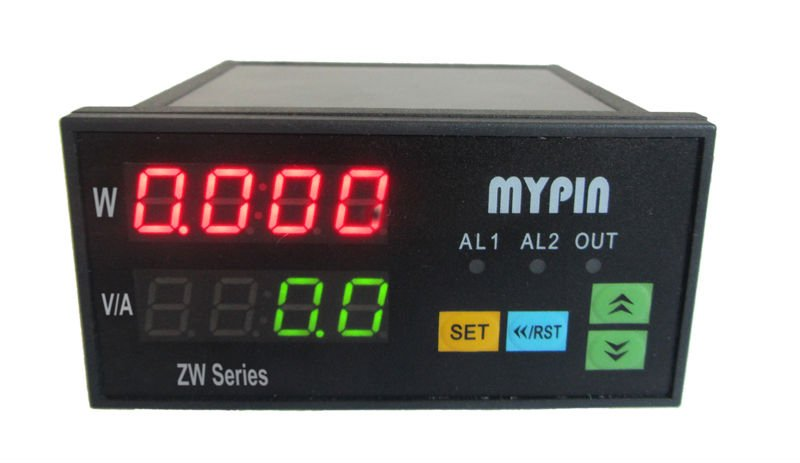 DC digital power meter for LED production line testing frequency power factor watt hour meter