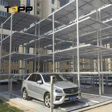 automated car system 3 high vertical car storage parking carport vertical lift carport
