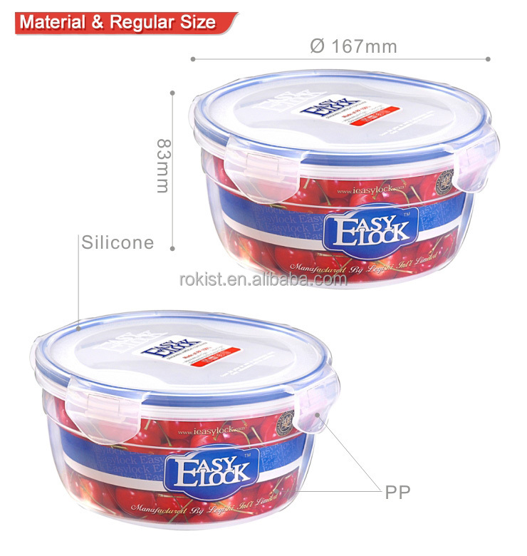 Hot style round food container