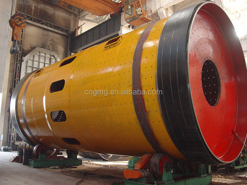 GMG High Chrome Casting Ball Mill for Grinding Iron Ore , Cement, Ceramic Industry