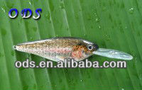 Hot selling !!! 2014 unique & special can attract many kinds of fish easily LED shad fishing lure