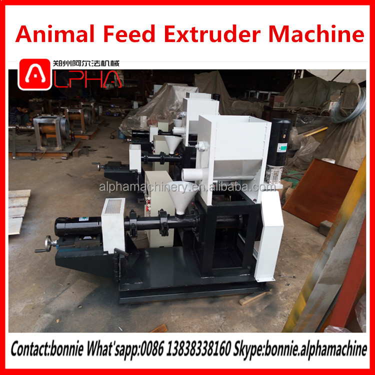 High efficiency poultry feed expanding maize animal feed machine