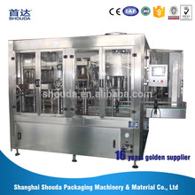 Trade assurance SD18-18-6 pure water bottle washing filling capping machine