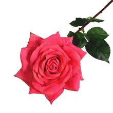 "31""Curly Petal English Rose Open Silk Rose Flower artificial rose"