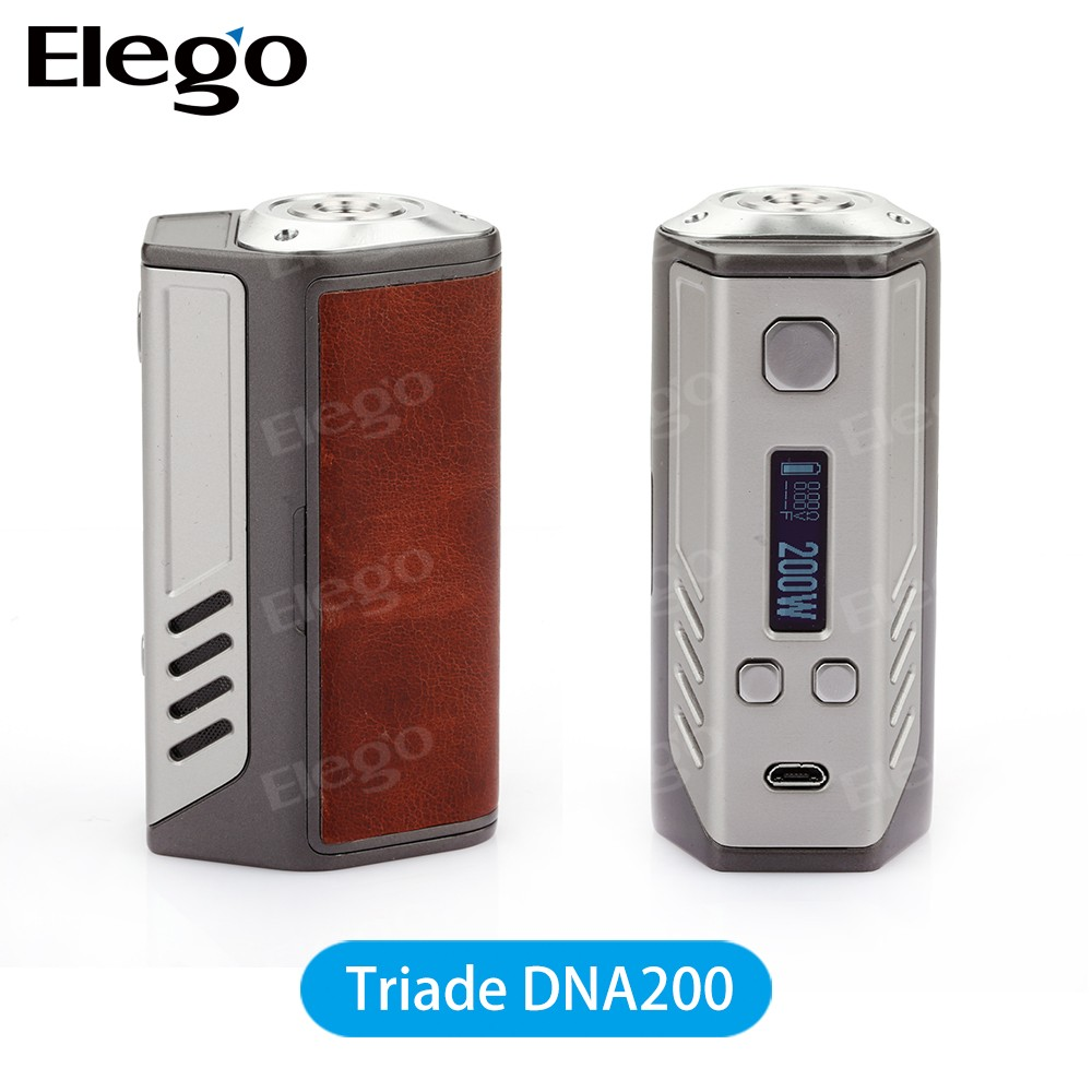 2016 New model 100% Original Lost Vape Triade DNA200 with large stock from Elego in large stock