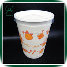 Custom Logo Heat Protection 16 oz Styrofoam Soup Cup