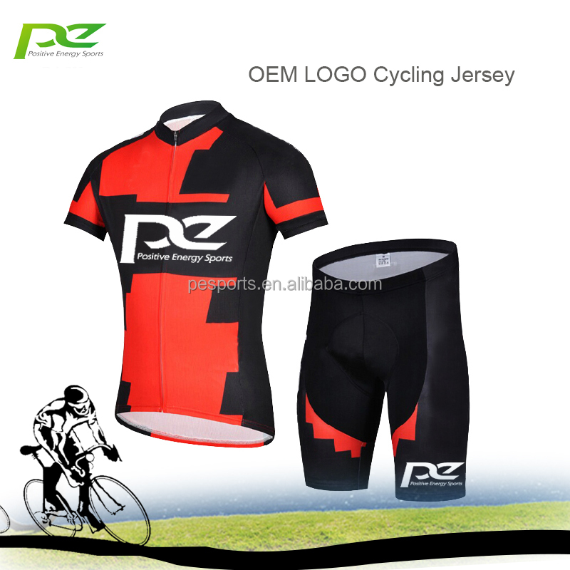 Hot sell team cycling jersey custom bike clothes short set cycling wear Pro Team