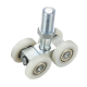 Nylon Sliding Door wheels rollers sliding gate trolley