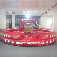 New inflatable sports games bull riding machine for sale
