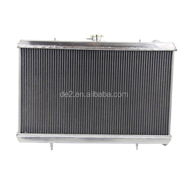 High performance auto spare parts aluminum car radiator forNISSAN SILVIA S13 240SX 180SX SR20DET SR20 MT 1989-1994