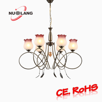 Wholesale modern coloured glass chandelier bronze chain hanging wholesale modern coloured glass chandelier bronze chain hanging chandeliers aloadofball Image collections
