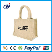 Cheap Wholesale Custom Jute Bags Hhandles Pack