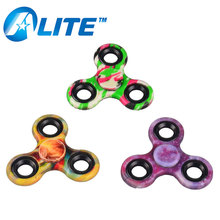 Hot Selling Fidget Wind Hand Toys LED Light Metal Finger Spinner
