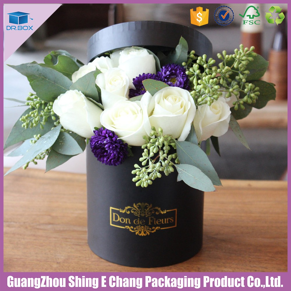 Elegant fancy custom logo round shipping flower packaging boxflower elegant fancy custom logo round shipping flower packaging boxflower bouquets packagingflower packaging izmirmasajfo
