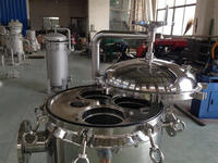 high pressure industrial stainless steel water filter housing and water purifier