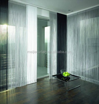 2017 fashion string curtain vertical blind made in china