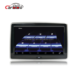 Android Car Headrest Monitor 10.1 Inch HD 1080p Headrest Replacement Car Video Dvd Player