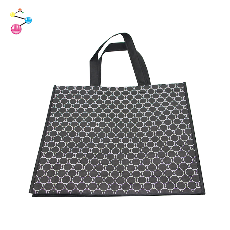 Wholesale Custom Laminated Printed Non Woven Muslin Eco Friendly Shopping Bag
