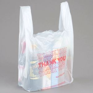 Favorable price flexiloop smart shopping paper bag for snack