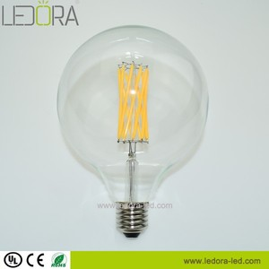 Diamond led dimmable Clear, frosted, milkey amber cover warm white color led light