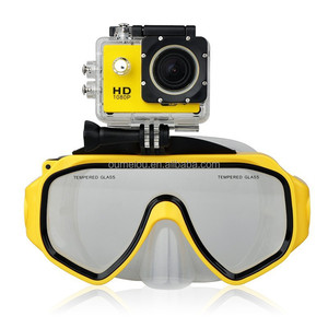 new arrival go pro accessories,detachable diving mask snorkeling equipment for sale