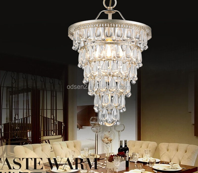 India Style Pendant Light Hanging Modern Crystal Chandelier