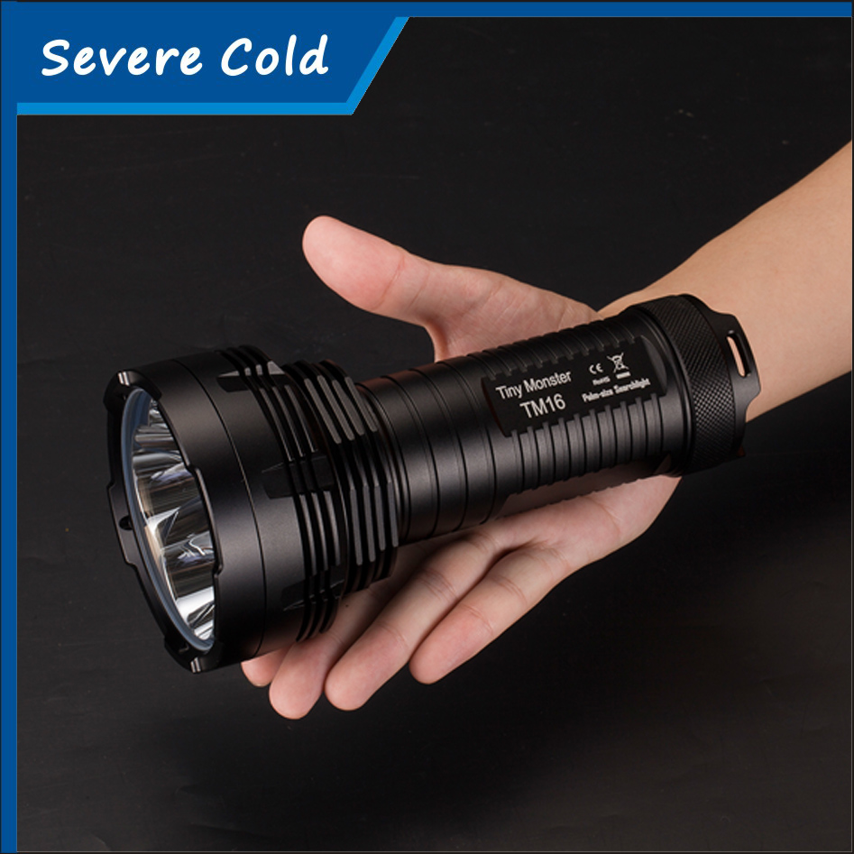 Nitecore TM16 High Quality Strong Power 4000 Lumens led flashlight 4xCREE XM-L2 U2 Outdoor flashlight