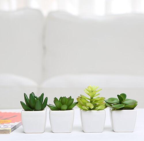 venta al por mayor macetas con plantas artificiales-compre online