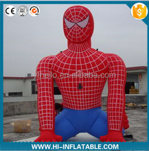 outdoor huge moving inflatable cartoon Spider cartoon for propaganda