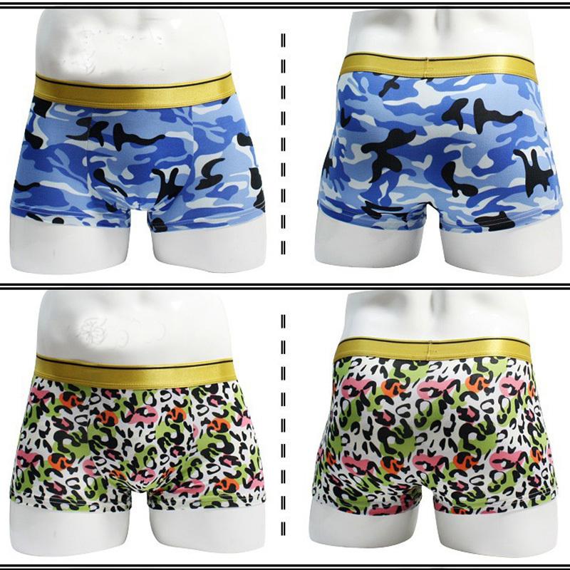 Мужчины одежда мужчины в нижнее белье сексуальный нижнее белье боксеры 24 цвета обработанная вискоза боксеры шорты мужчины MCUN7268