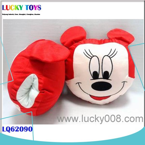 New Product 10 inch MICKEY MINNIE MOUSE BABY PLUSH TOYS HAND WARMER LOVELY GIFT TOY FOR SALE HOME DECORATION