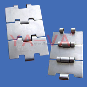 SS SINGLE HINGE STRAIGHT RUNNING CHAINS - 812 SERIES