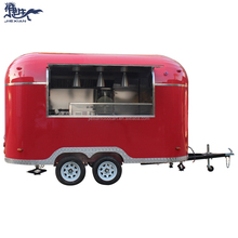China concessie airstream catering trailer <span class=keywords><strong>gebruikt</strong></span> fast food winkelwagen trailer