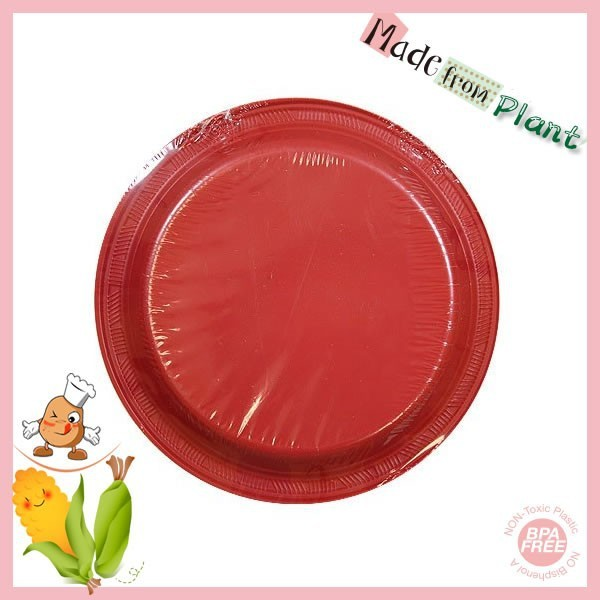 Red PLA BPA free Bioplastic Outdoors Clear Plastic Plate  sc 1 st  Alibaba & China Clear Plastic Plate Wholesale 🇨🇳 - Alibaba